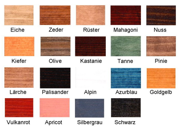 Favorit Natural Holzlasur für Außen und Innen Natural Holzlasur 2,5 l JQ99