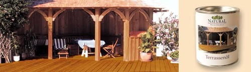 Terrassen Ol Terrassenol Natural Naturfarben