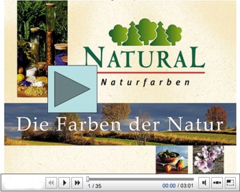 Video: Natural Naturfarben - Abspielen ...
